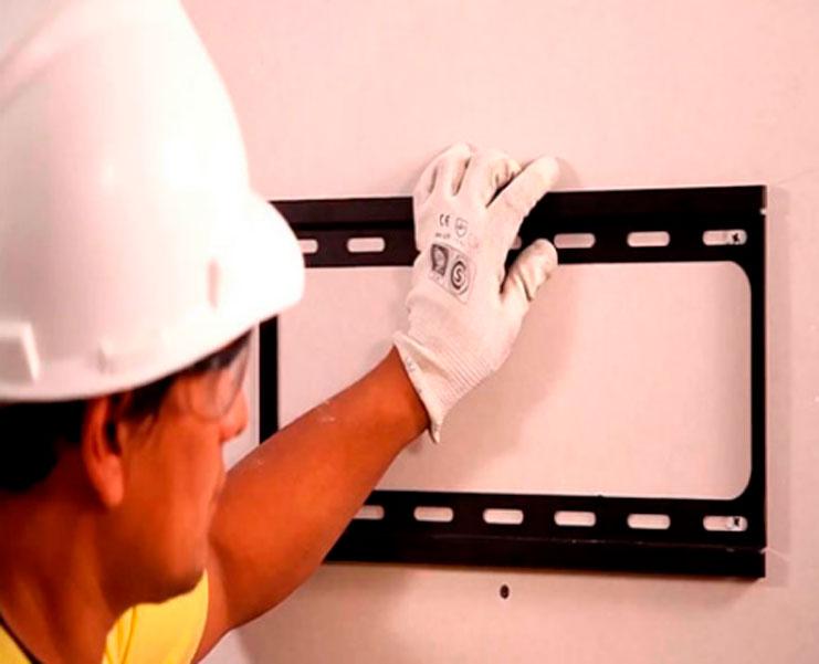 Instalación de soportes para TV LCD LED en Bogotá Colombia