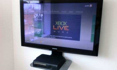 Ideas para instalar tu Xbox en la pared