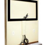 Camuflaje para los cables AV de tu tv LCD LED DVD