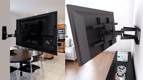 venta instalacion de soportes para televisores en bogota