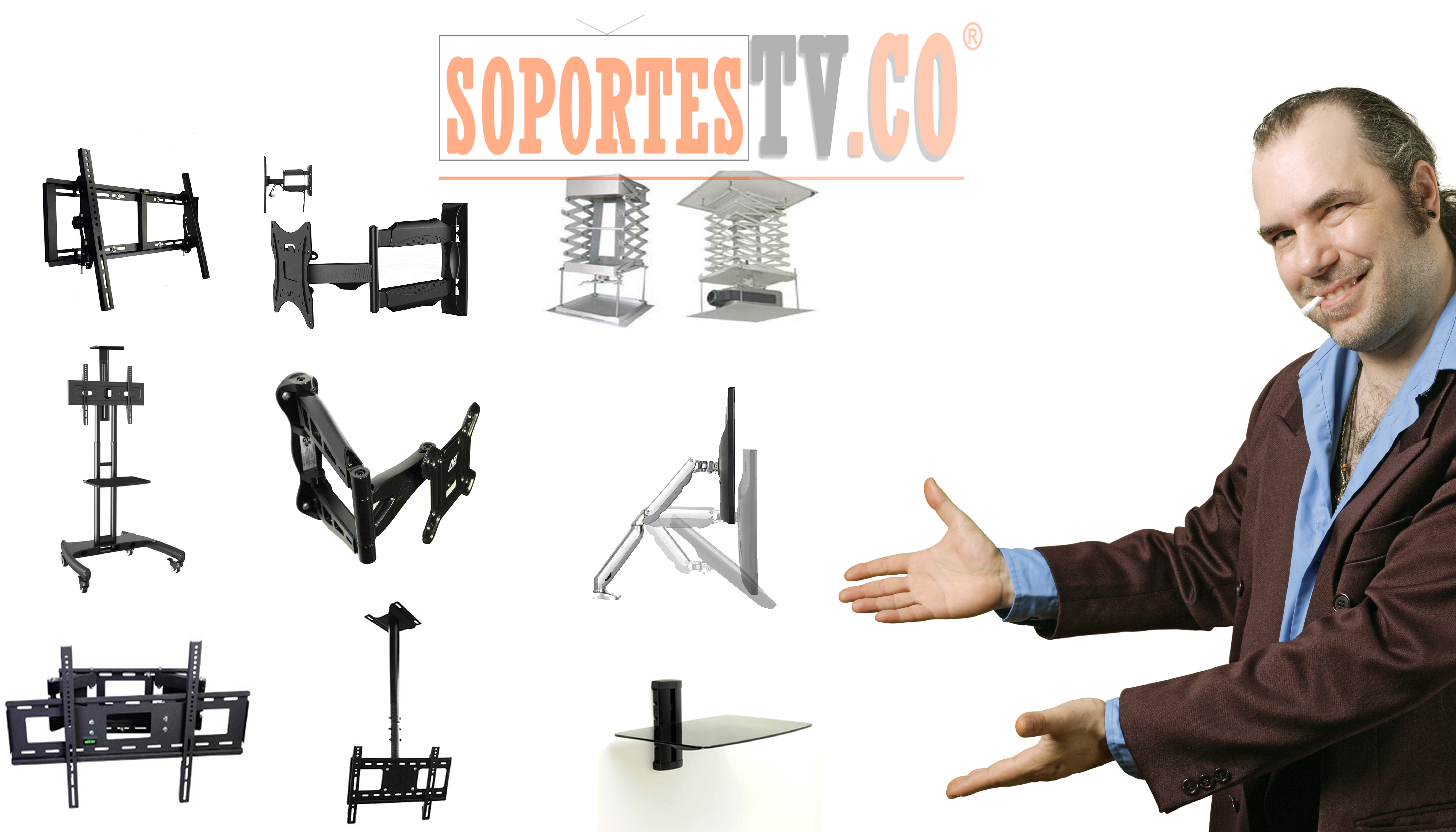 Soporte pared tv falabella bogota blog - Soportes tv pared ...