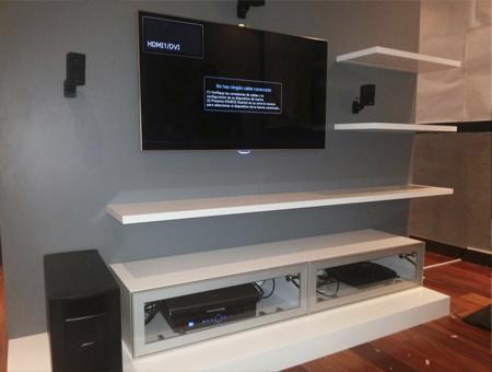 Instalacion soportes para Televisores en Alkosto