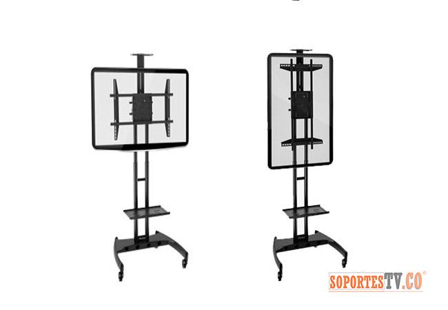 soporte tv pedestal importado